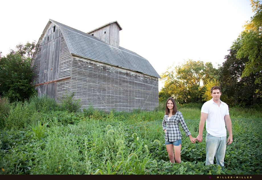 chicago farm engagement photography photographer