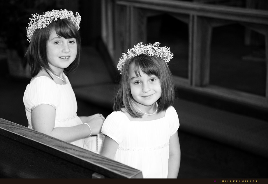 Flowergirls Black White