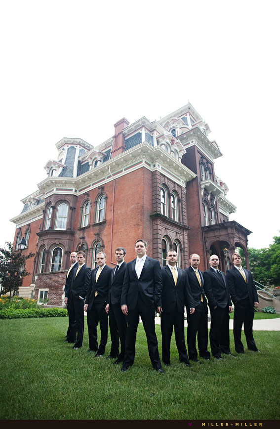 joliet mansion wedding photographer