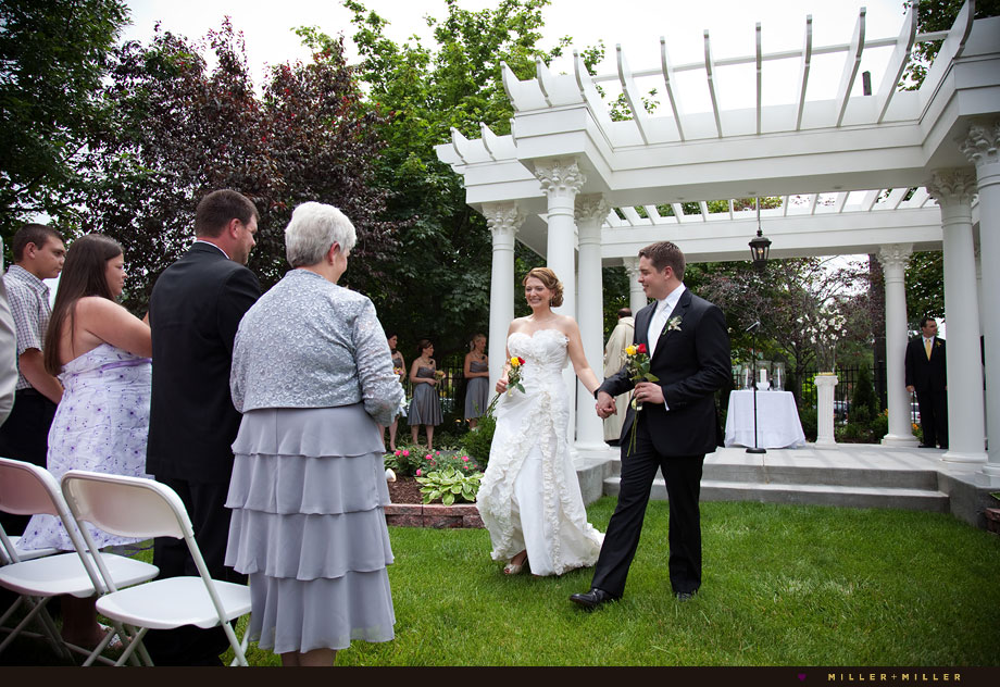 Naperville wedding ceremony pictures