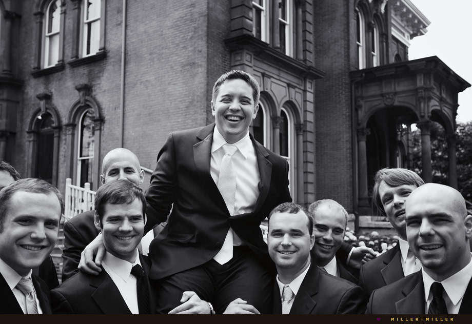 groomsmen historic chicago mansion