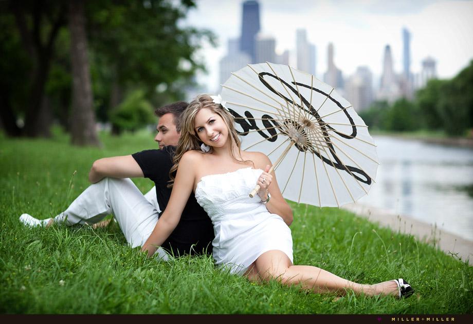 unique Chicago engagement photographer