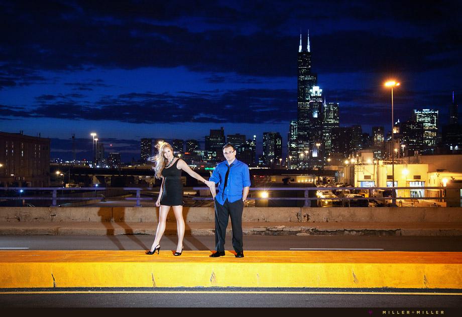unique Chicago engagement photography