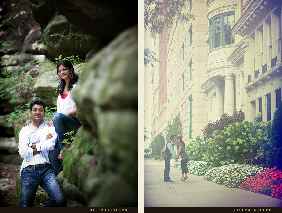beautiful engagement images chicago