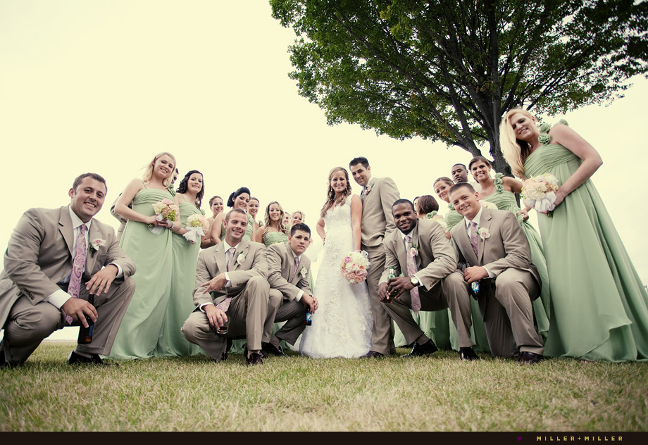 creative wisconsin wedding photography