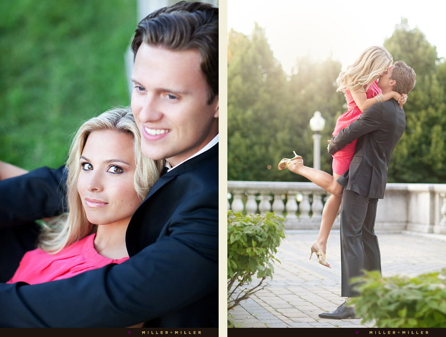 editorial style chicago engagement