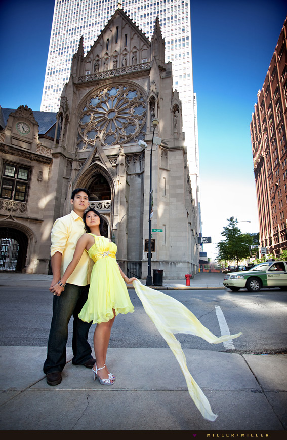 old chicago historical chapel engagement