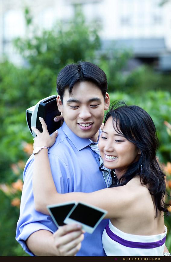 polaroid camera engagement