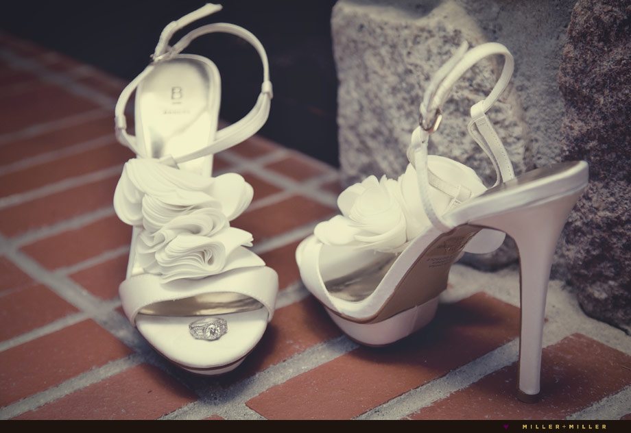 couture bridal wedding heels