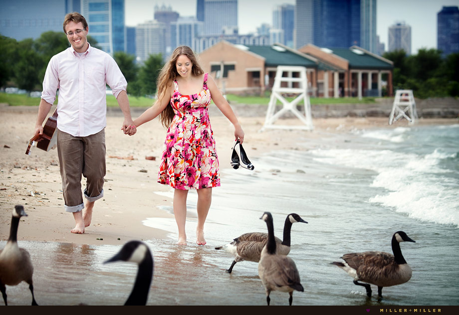 beach sand walking engagement images