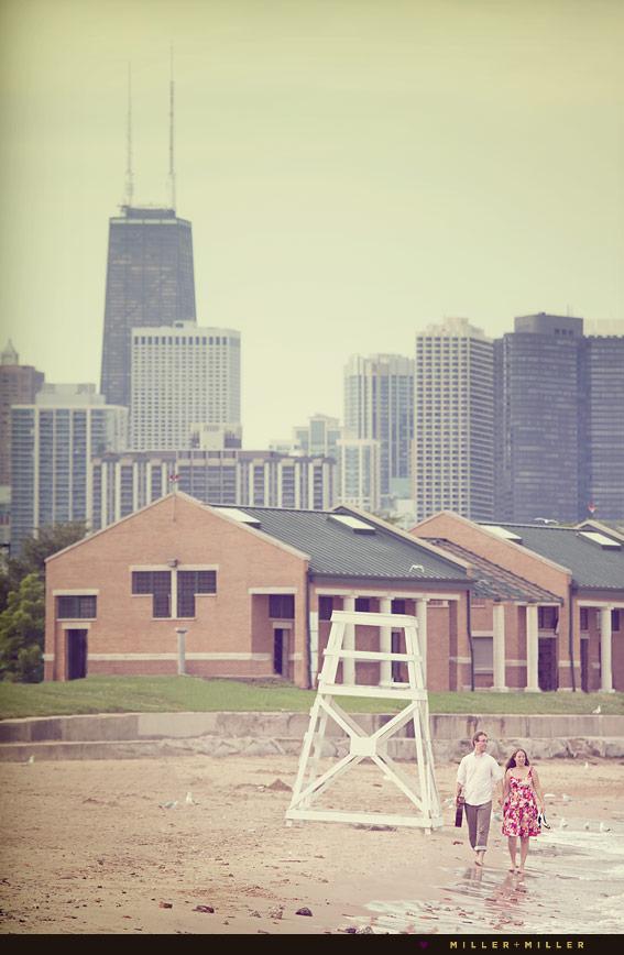 chicago skyline shoreline portraits