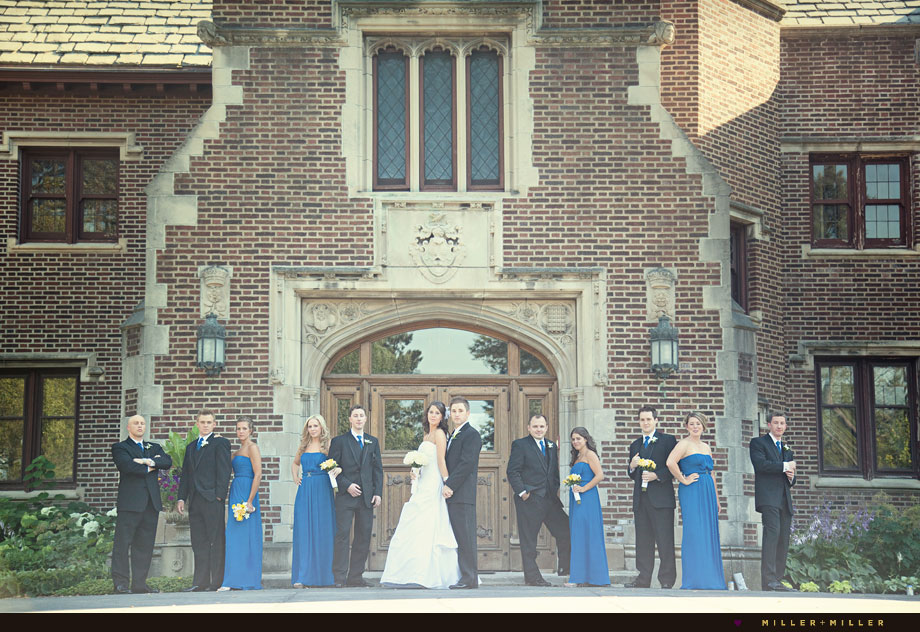 peabody estate wedding oakbrook il