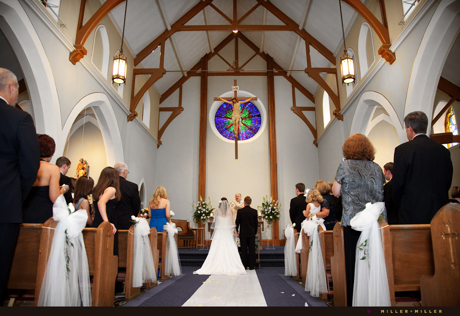St. Patrick's church Lemont IL wedding