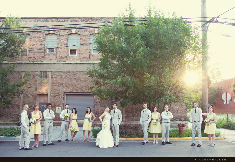 vintage style chicago wedding photographer