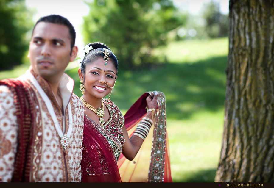 artistic indian wedding portraits
