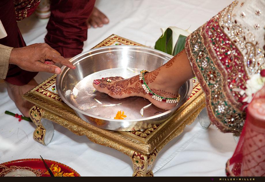 bride henna leg foot