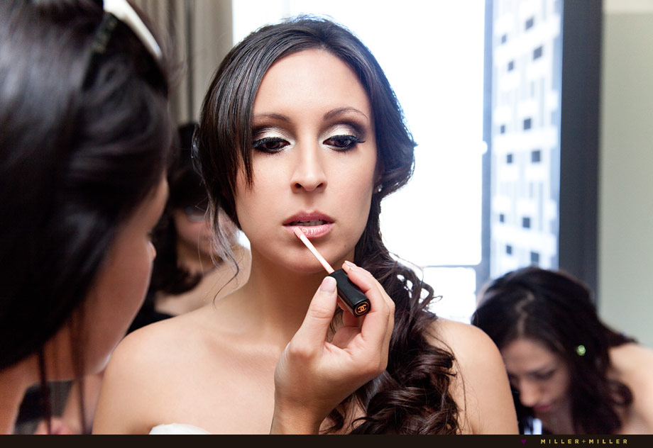 chicago bridal make up image