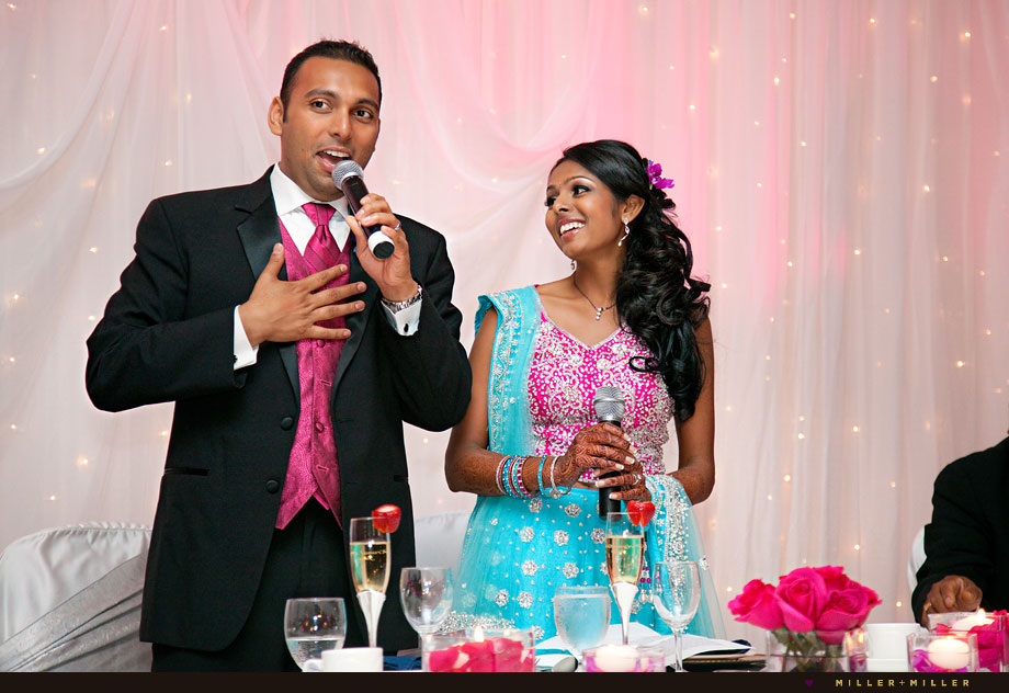 chicago indian wedding reception photographer