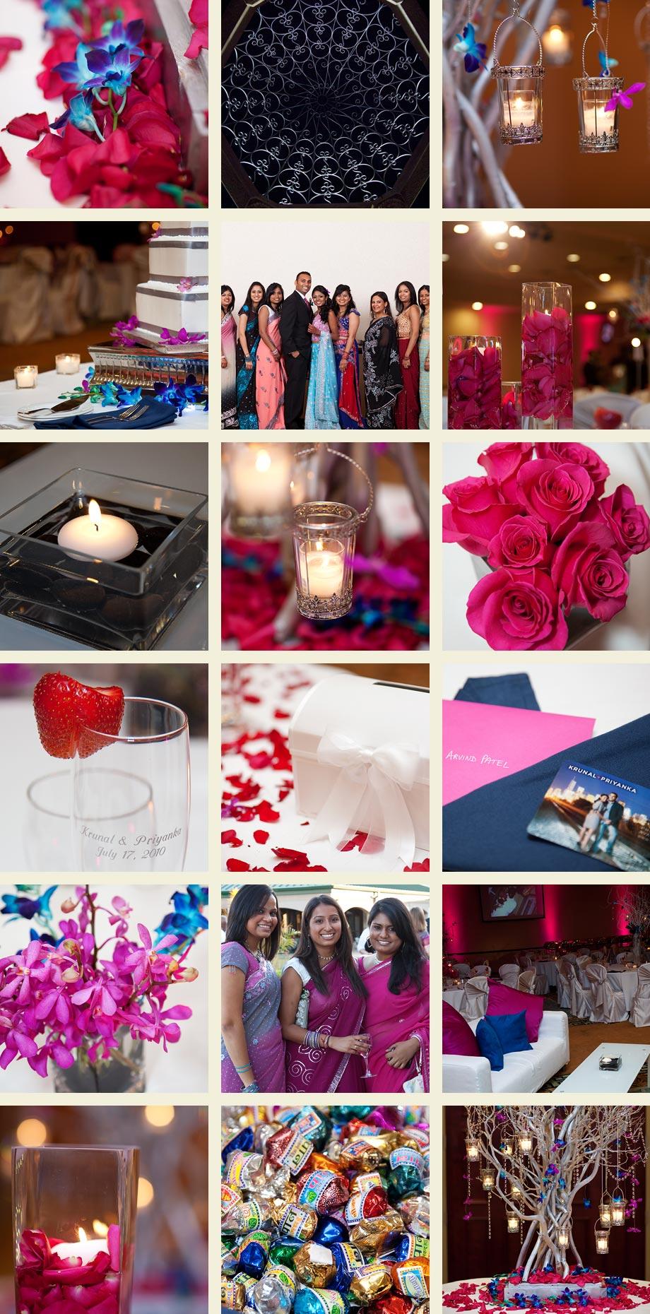 chicago indian wedding reception photos
