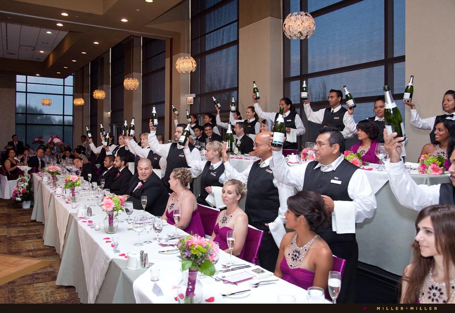 Chicago Westin wedding reception
