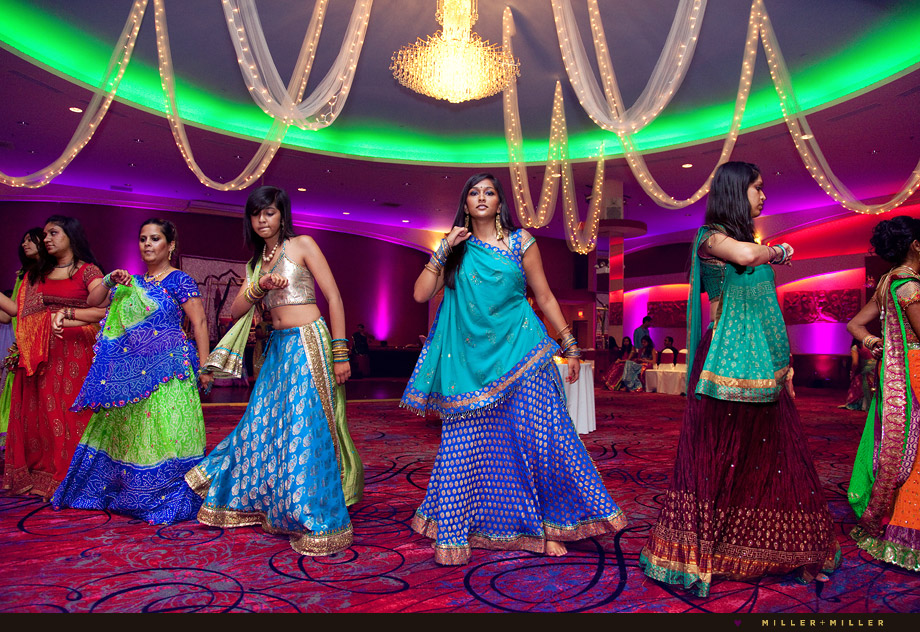 colorful chicago garba photography