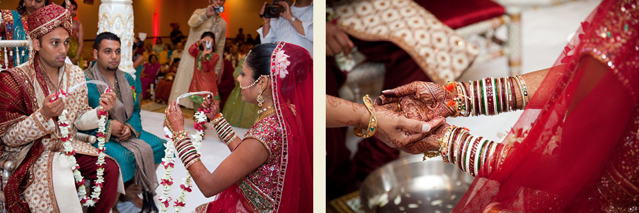 dubai varmala ceremony pictures