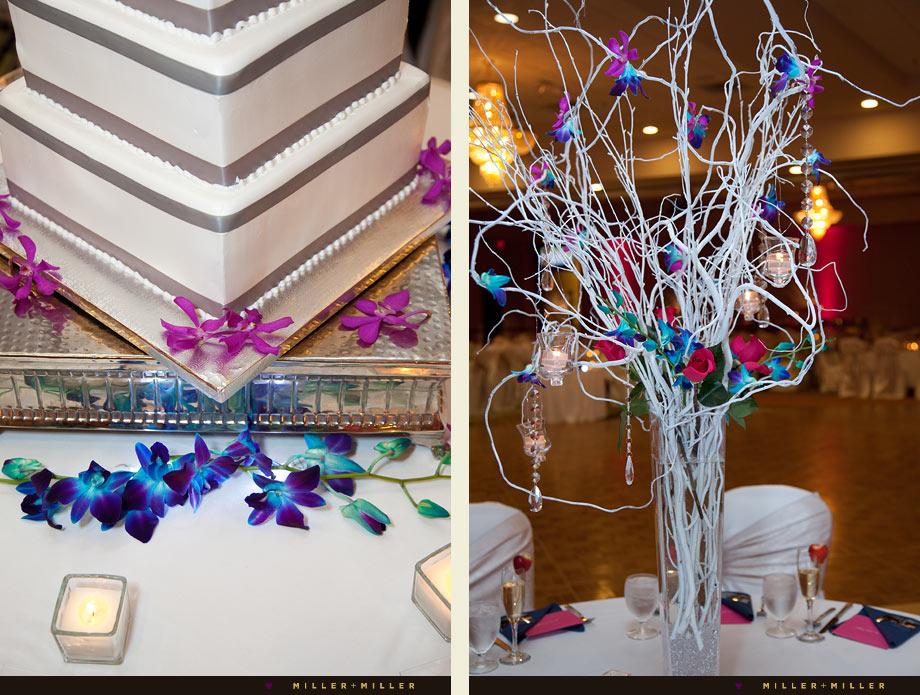elegant chicago indian wedding reception