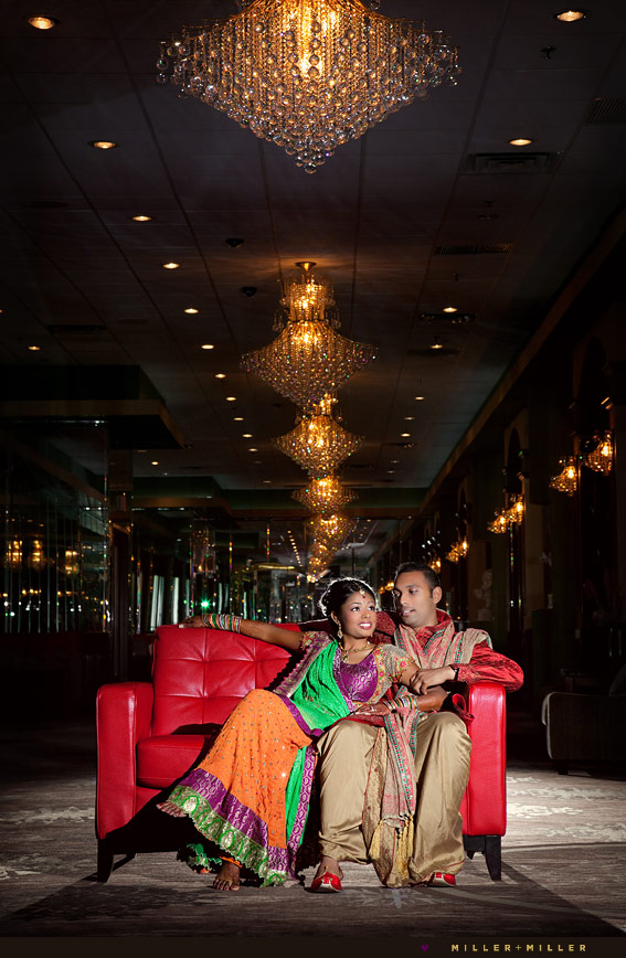 high-fashion chicago indian wedding photographer
