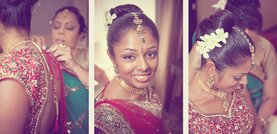 high-fashion indian wedding
