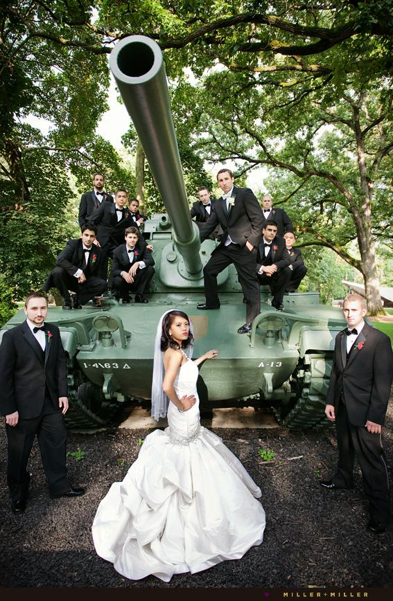 high-fashion wedding chicago modern