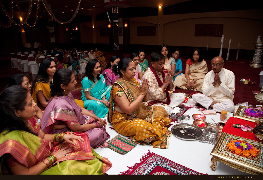 indian prayer wedding event pictures