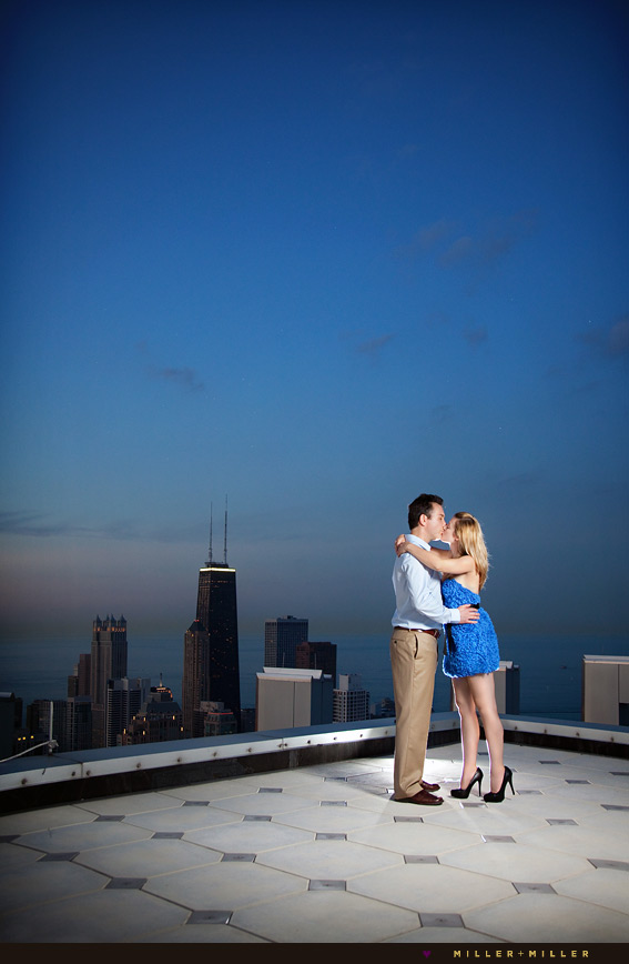 lake michigan hancock signature room engagement