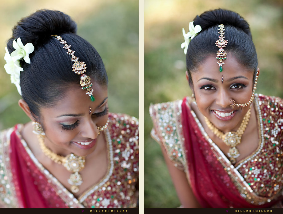 modern chicago indian bride photography