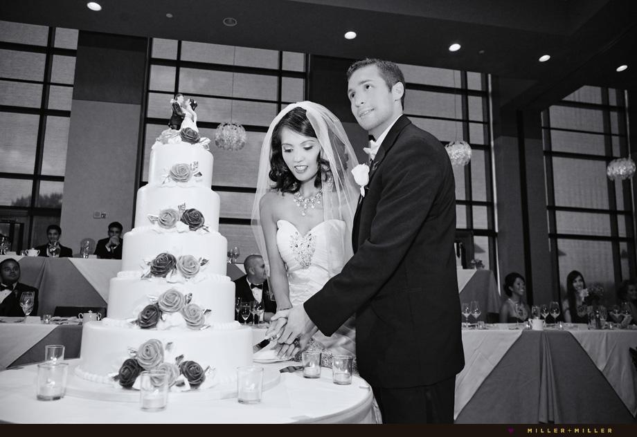 modern hotel Westin wedding photography
