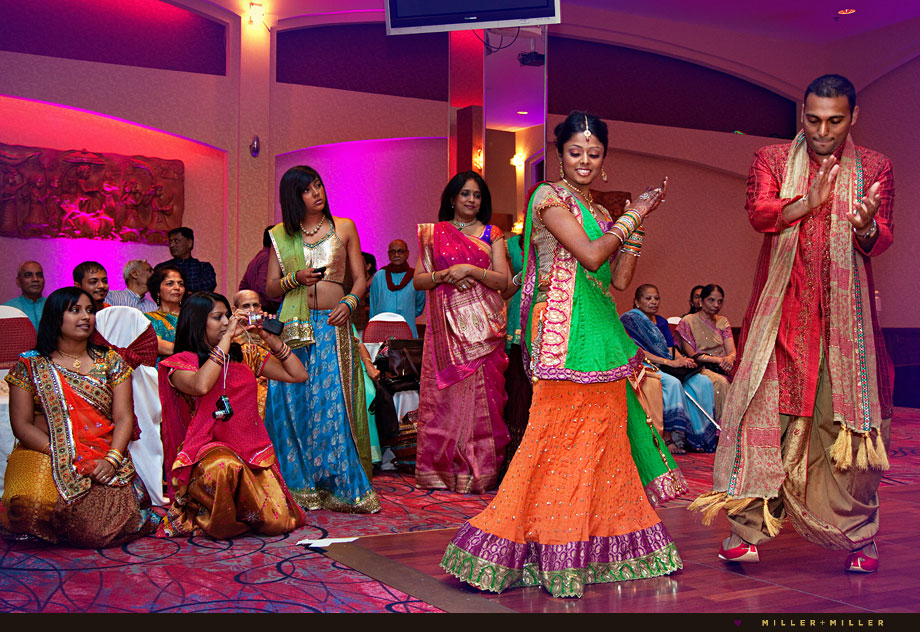 Modern Indian Wedding Garba