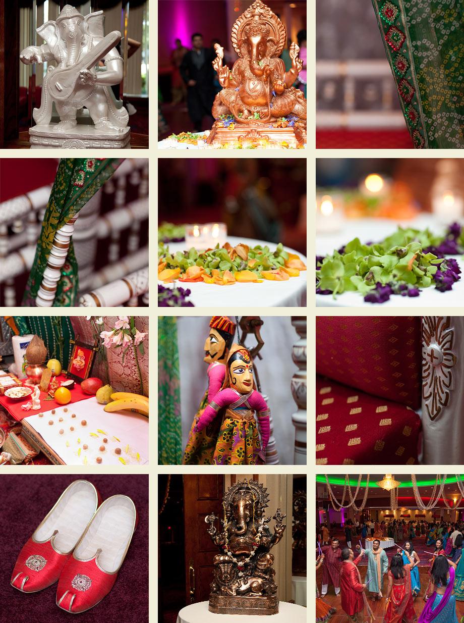 traditional indian decorating Ganesh