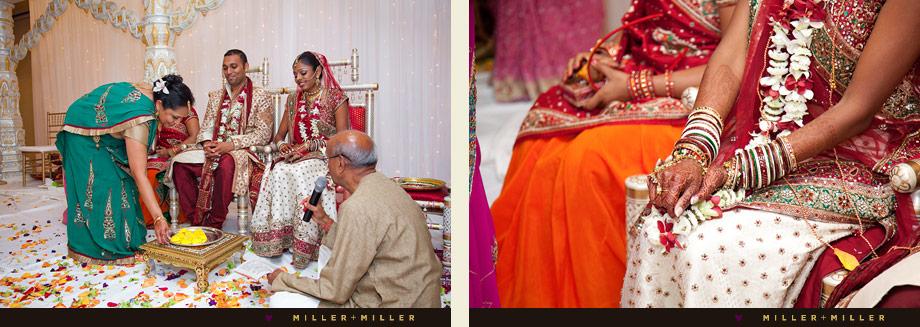 vibrant ceremony photography