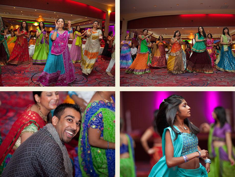 vibrant indian wedding chicago