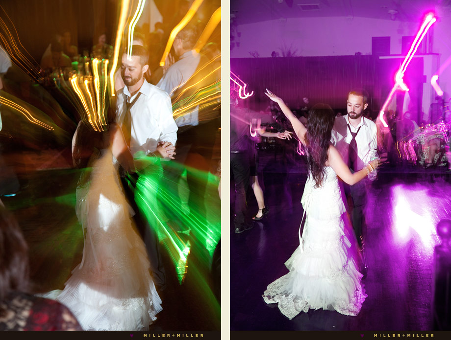 wedding dancefloor lighting