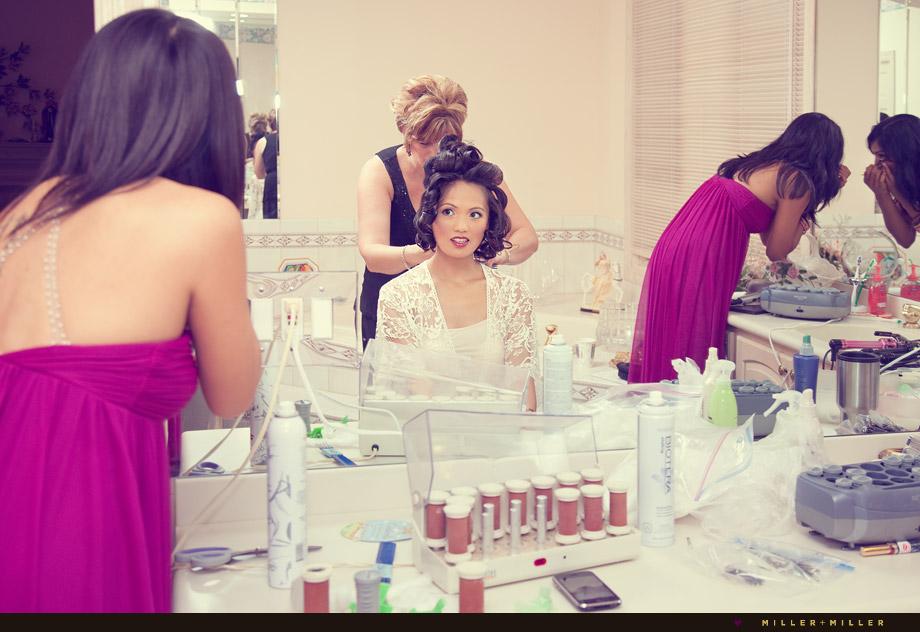 wedding hair make-up