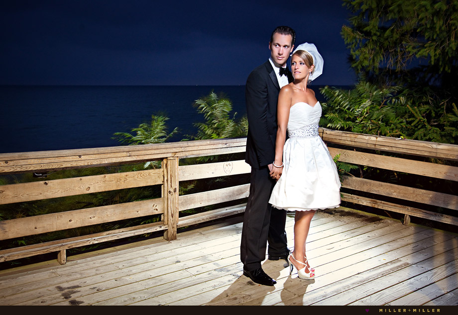 evening wedding photography michigan il