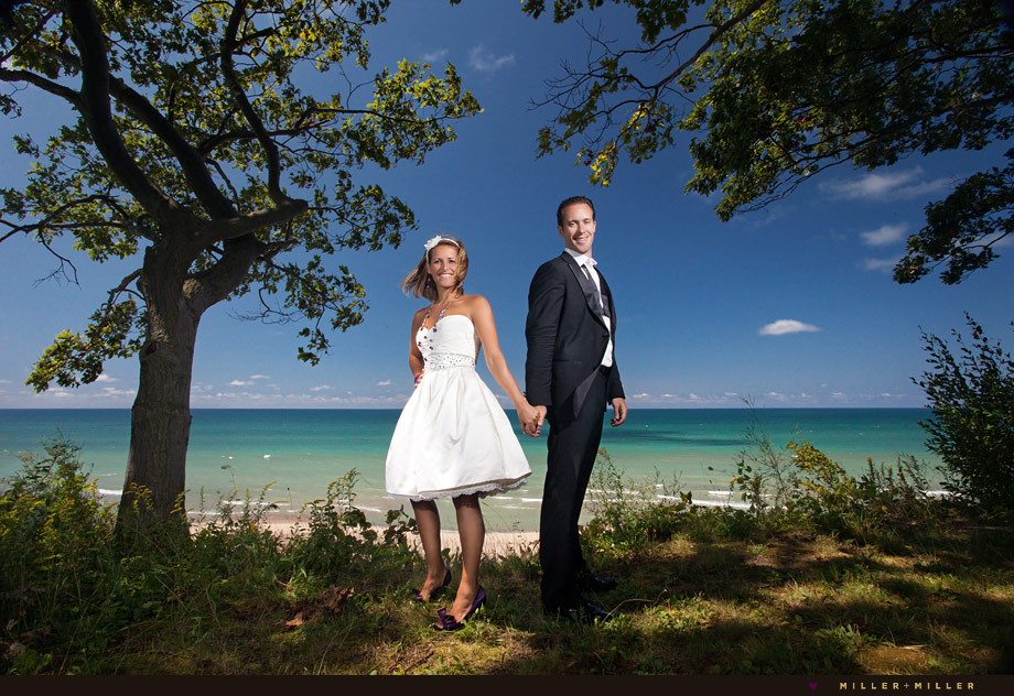 michigan beach wedding photographer chicago