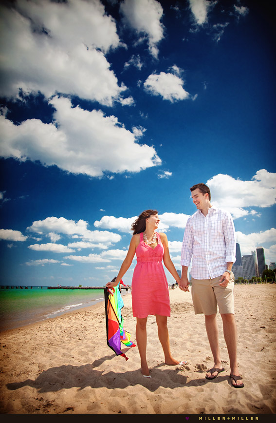 north shores chicago engagement photographer