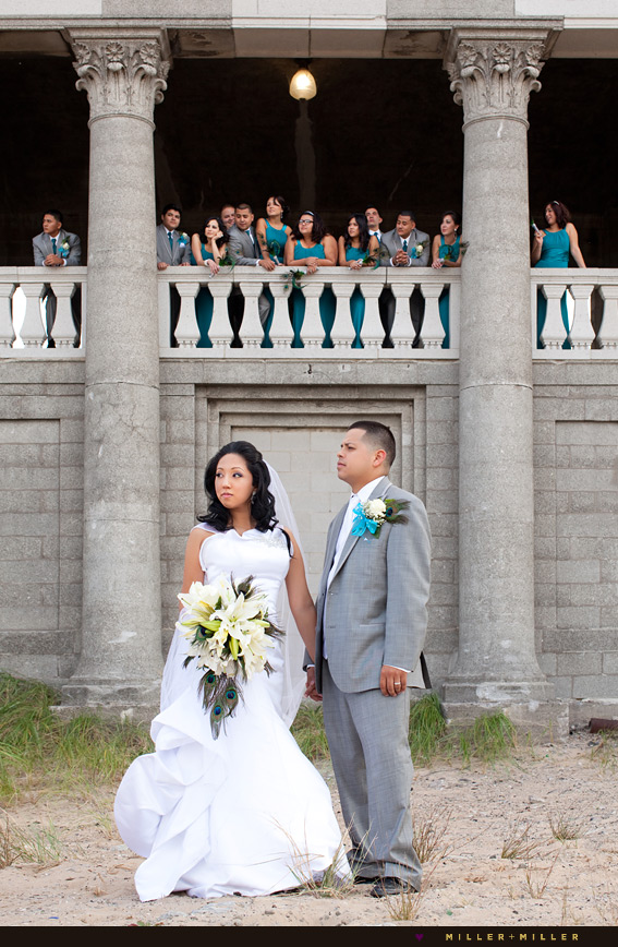 artistic wedding photography chicago beach indiana dunes