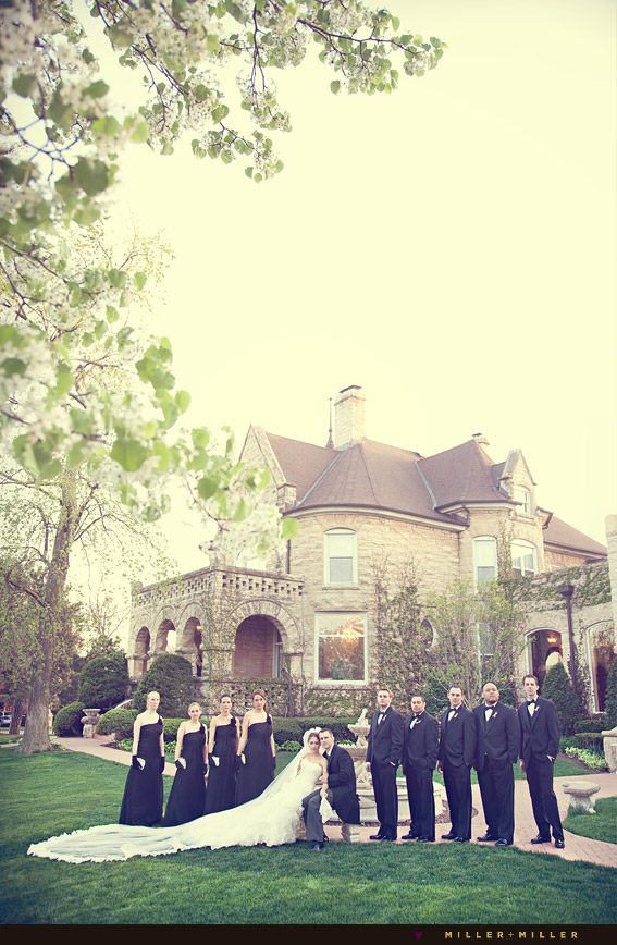 chicago area wedding mansion
