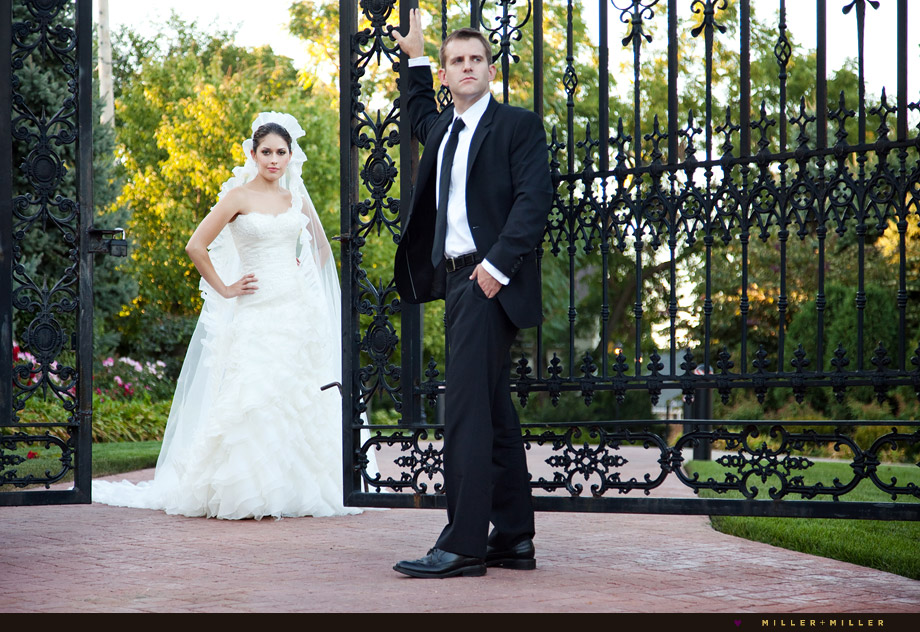 chicago private estate exclusive wedding