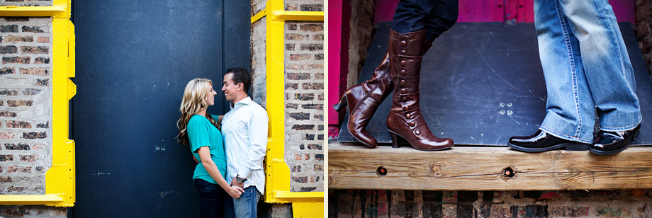 creative chicago engagement photographer