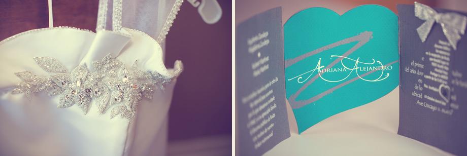 dress custom heart wedding invitation