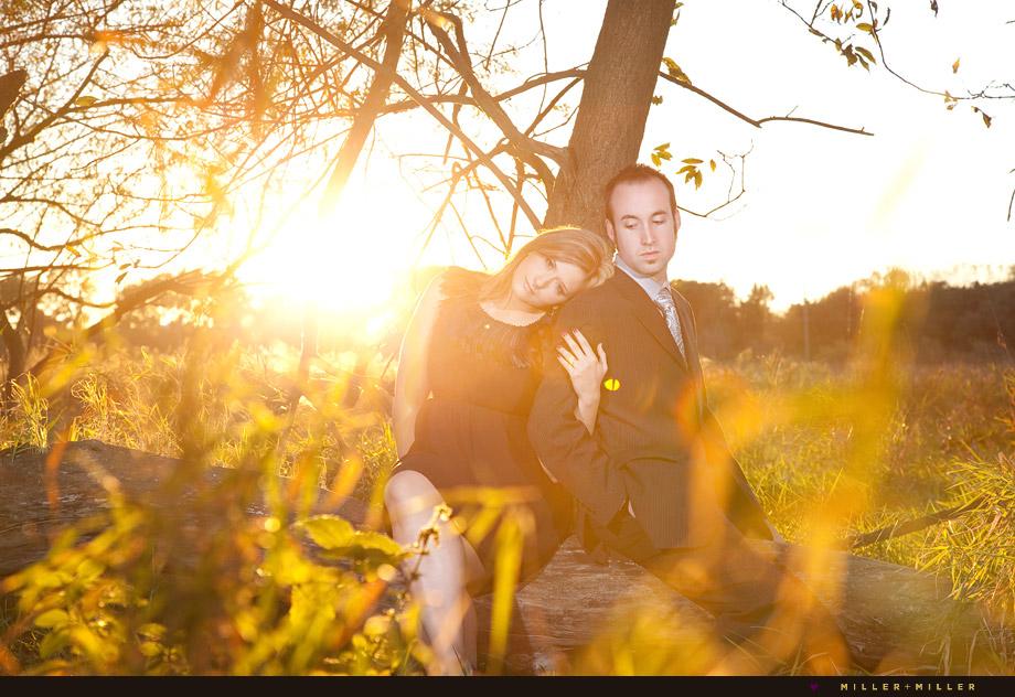 engagement photography lemont narnia estate wedding