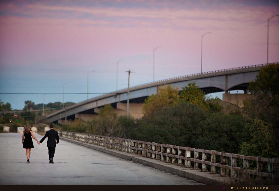 illinois bridge outdoor portraits